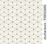 vector seamless pattern. modern ... | Shutterstock .eps vector #558333682