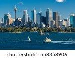 Sydney Cityscape Of Sydney Cbd...