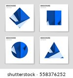 abstract vector layout... | Shutterstock .eps vector #558376252