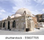 a view of the mosque from 1645... | Shutterstock . vector #55837705
