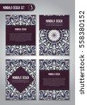 vector mandala decor for your... | Shutterstock .eps vector #558380152