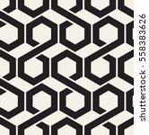 vector seamless pattern. modern ... | Shutterstock .eps vector #558383626