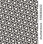 vector seamless pattern. modern ... | Shutterstock .eps vector #558383632