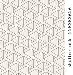 vector seamless pattern. modern ... | Shutterstock .eps vector #558383656