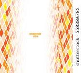 abstract vertical perspective... | Shutterstock .eps vector #558386782