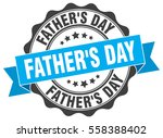 father's day. stamp. sticker.... | Shutterstock .eps vector #558388402