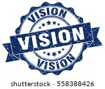 vision. stamp. sticker. seal.... | Shutterstock .eps vector #558388426