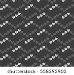 romantic seamless pattern ... | Shutterstock .eps vector #558392902