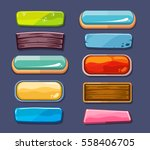 options selection windows ... | Shutterstock .eps vector #558406705
