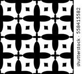 christian geometric pattern... | Shutterstock .eps vector #558415582