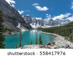 beautiful panoramic view over... | Shutterstock . vector #558417976