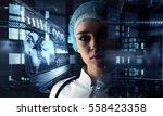 innovative technologies in...   Shutterstock . vector #558423358
