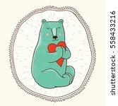 vector illustration with... | Shutterstock .eps vector #558433216
