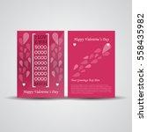 creative flyer  brochure design ... | Shutterstock .eps vector #558435982