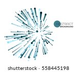 vector abstract explosion lines....   Shutterstock .eps vector #558445198