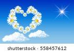 Daisy Heart In The Sky. Holida...