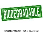 biodegradable grunge rubber... | Shutterstock .eps vector #558460612