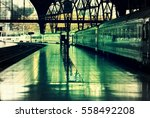 train station   barcelona spain | Shutterstock . vector #558492208
