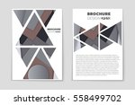 abstract vector layout... | Shutterstock .eps vector #558499702