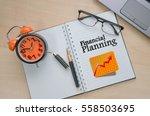 business management concept ... | Shutterstock . vector #558503695