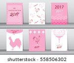 collection of chinese new year...   Shutterstock .eps vector #558506302