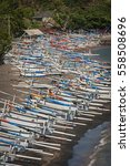 Balinese Fishing Boats In Amed...