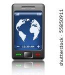 vector smartphone | Shutterstock .eps vector #55850911
