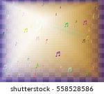 musical note design texture   Shutterstock .eps vector #558528586
