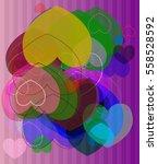 heart texture idea   Shutterstock .eps vector #558528592