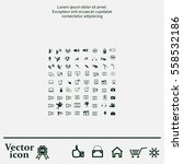 technology icons | Shutterstock .eps vector #558532186
