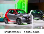 detroit   january 9  a fortwo... | Shutterstock . vector #558535306