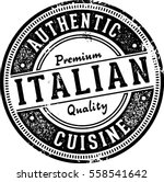 authentic italian cuisine... | Shutterstock .eps vector #558541642