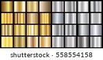gold silver gradient background ...   Shutterstock .eps vector #558554158