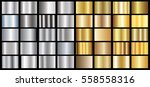 gold silver gradient background ... | Shutterstock .eps vector #558558316