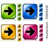 vector arrow buttons | Shutterstock .eps vector #55856338