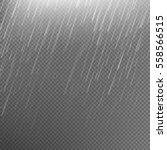 rain transparent template... | Shutterstock .eps vector #558566515