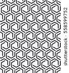 vector seamless pattern. modern ... | Shutterstock .eps vector #558599752