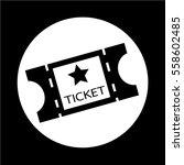 movie ticket icon | Shutterstock .eps vector #558602485