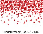 vector background with krysnymi ... | Shutterstock .eps vector #558612136
