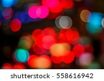 blurred light in red background ... | Shutterstock . vector #558616942