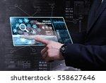business  technology  internet... | Shutterstock . vector #558627646