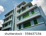 shophouses along south east... | Shutterstock . vector #558637156