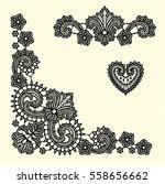lace clip art | Shutterstock .eps vector #558656662
