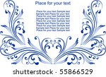decor for text | Shutterstock .eps vector #55866529