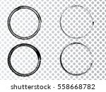 vector frames. circle for image.... | Shutterstock .eps vector #558668782