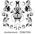 vector design elements | Shutterstock .eps vector #55867096