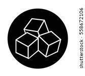 sugar icon | Shutterstock .eps vector #558672106