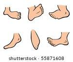cartoon vector illustration... | Shutterstock .eps vector #55871608