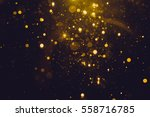 gold abstract bokeh background | Shutterstock . vector #558716785
