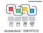 business minimal infographic...   Shutterstock .eps vector #558747172